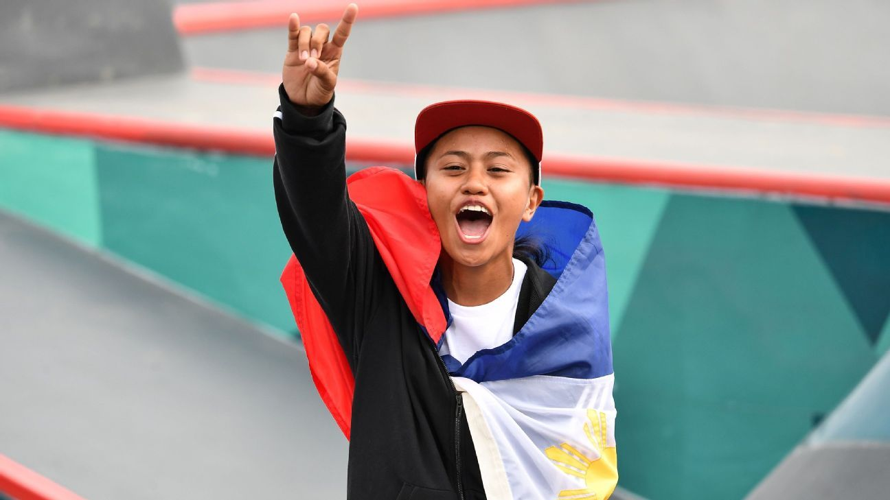 Margielyn Didal tops skateboarding event, gives Philippines fourth