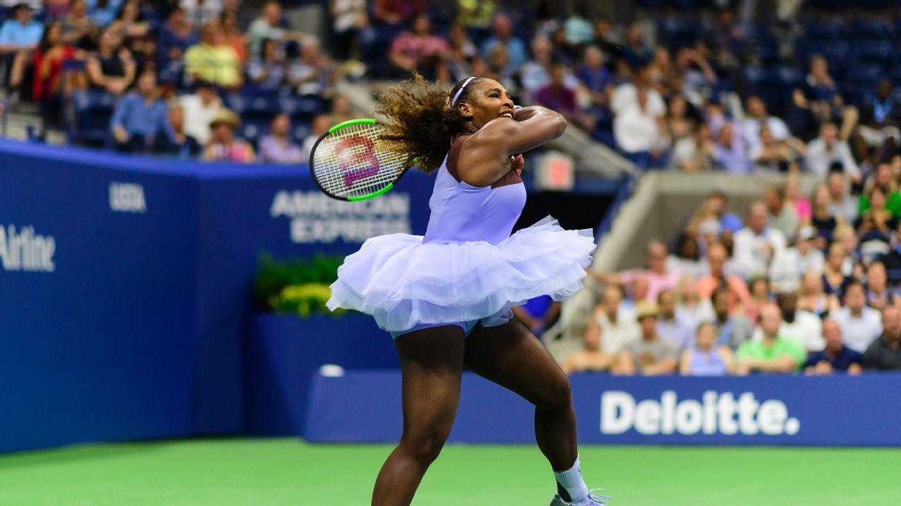 fa130b62e Serena Williams e o seu tutu de balé: a roupa que a tenista tem usado no US  Open