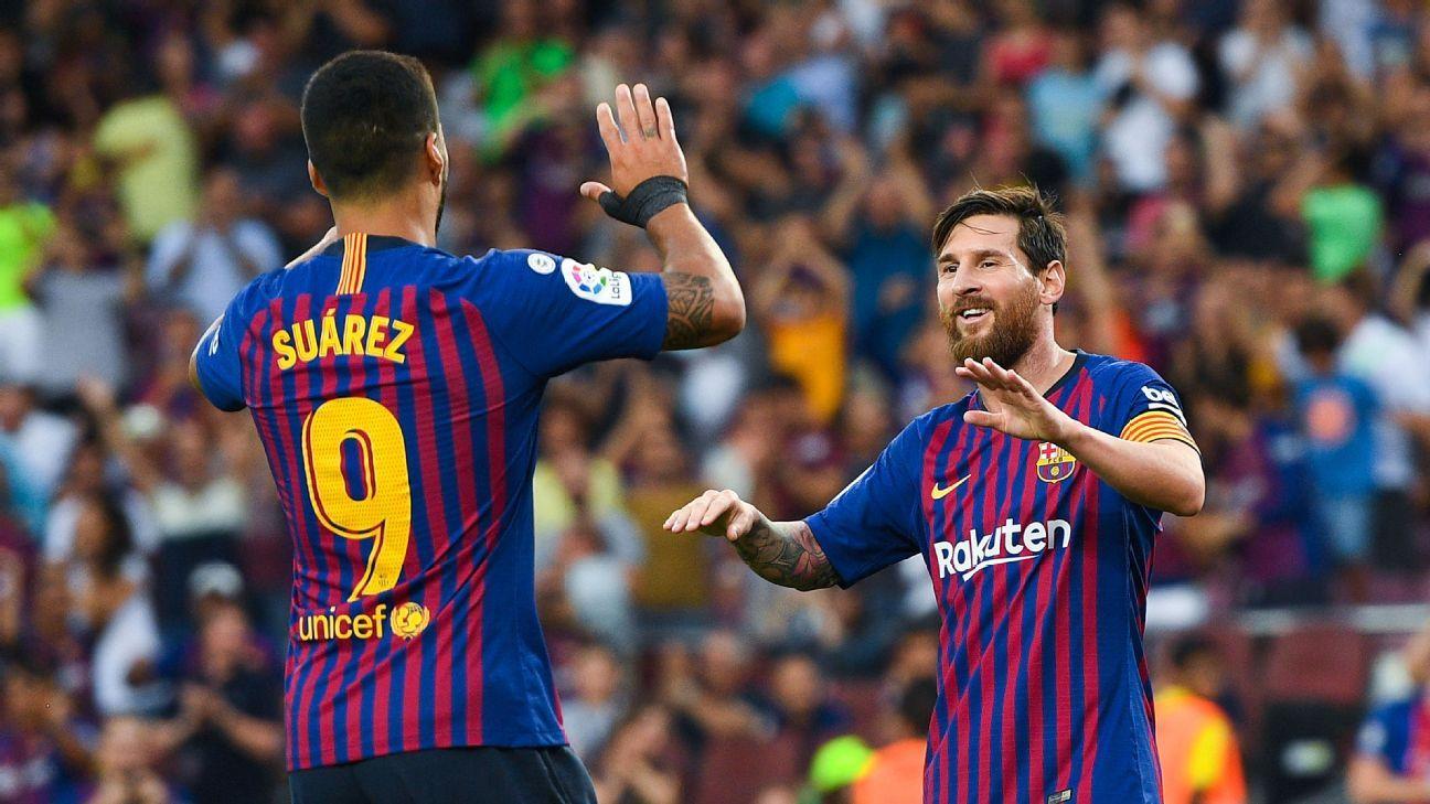 Barcelona Vs Huesca Football Match Report September 2 2018 Espn