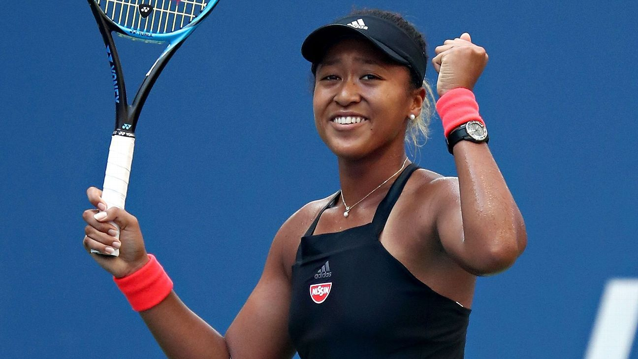 Naomi Osaka, Juan Martin del Potro among top 75 men, women in BNP Paribas Open