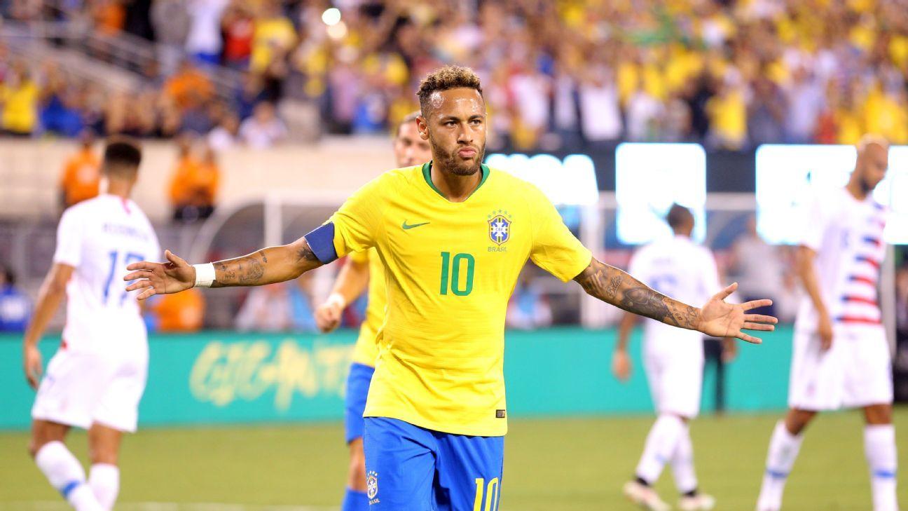 Neymar not in top 10 of Brazil's post-Pele greats - poll