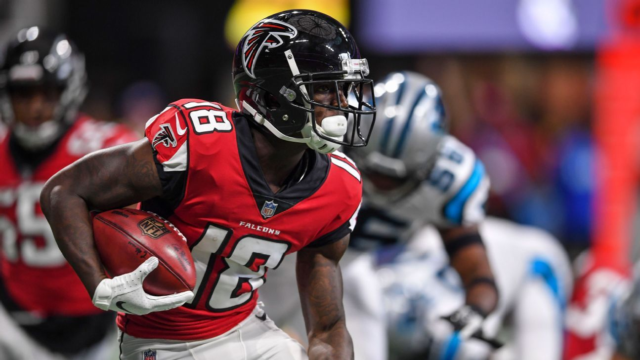 Calvin Ridley, Mohamed Sanu back from injuries for Falcons ...