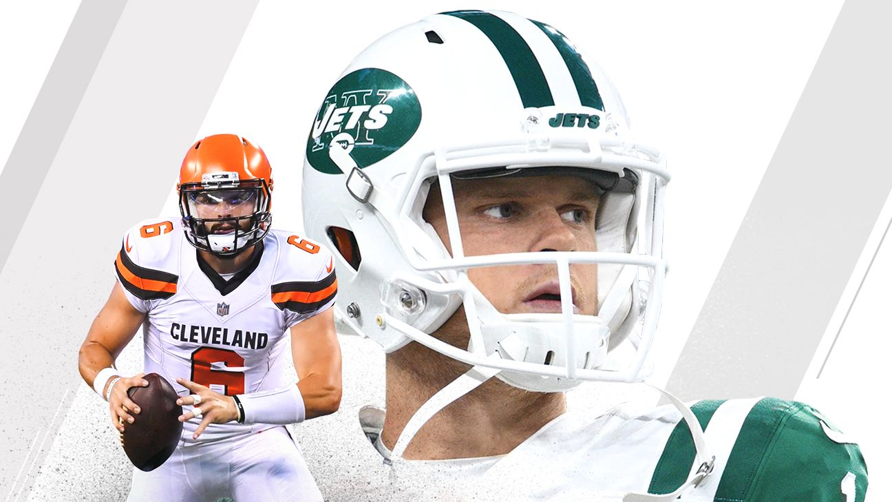 3e3a8ccf296 New York Jets and Cleveland Browns eager to jump off QB merry-go-round - NFL  Nation- ESPN