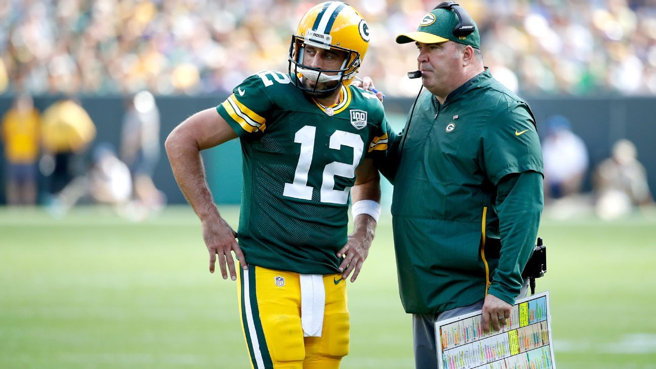 Talent, toughness, QB-coach 'marriage' help Aaron Rodgers
