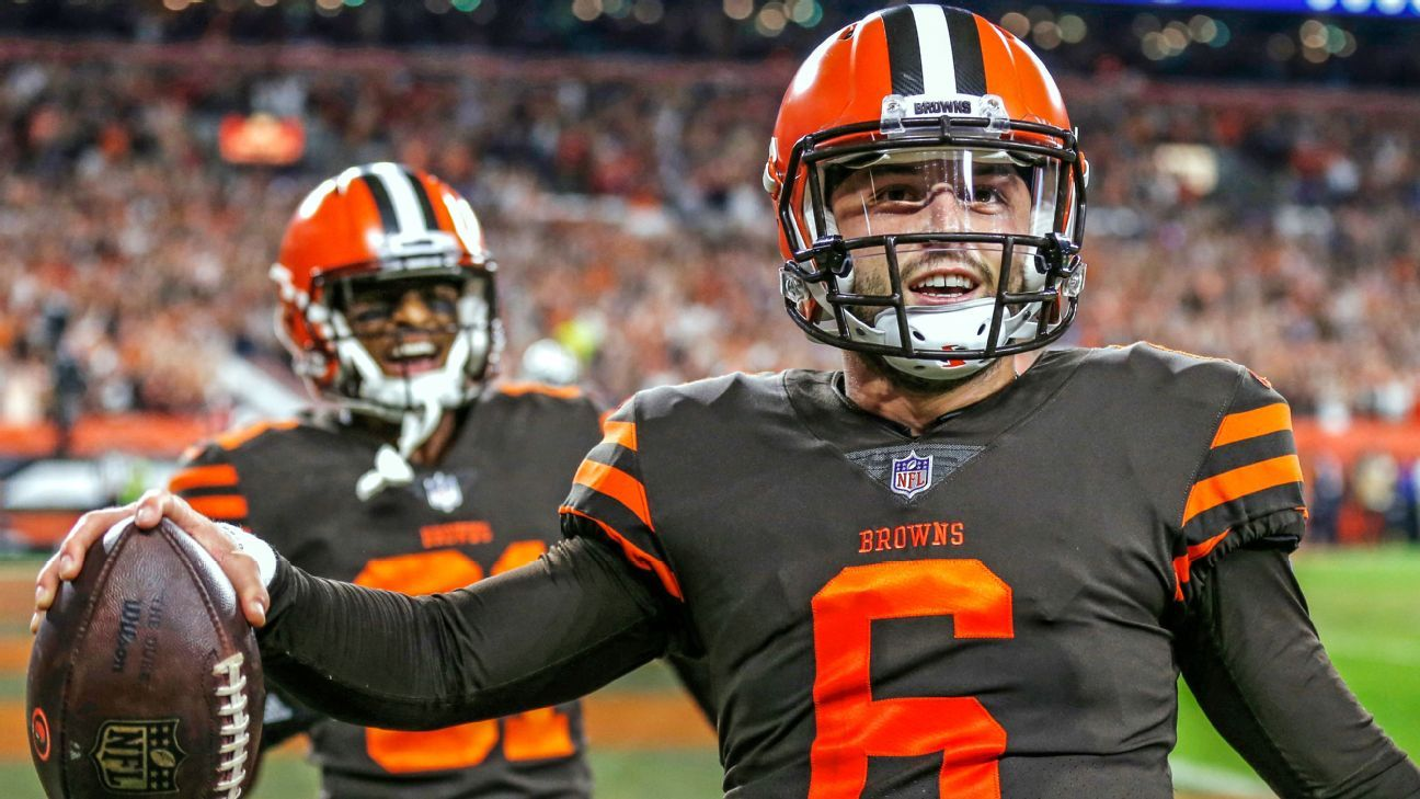 8783e1f05 Cleveland Browns QB Baker Mayfield is giving the city a reason to believe