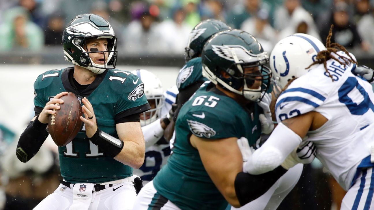 Carson Wentz's new approach: Make more plays from pocket