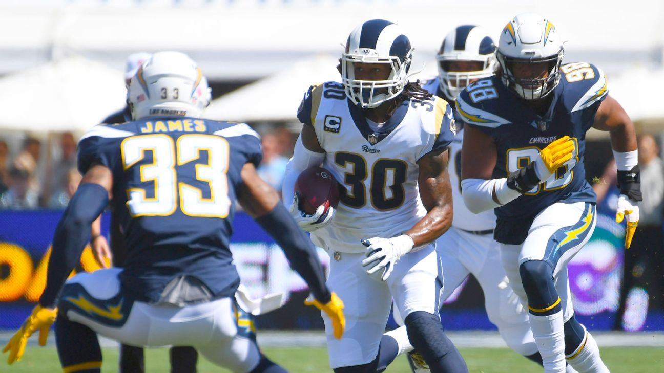061df1a8 Even as the Rams seek balance, Todd Gurley will keep doing it all - NFC  West- ESPN