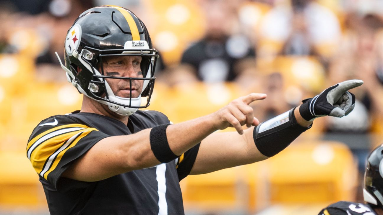 ad3f6d6f3 Pittsburgh Steelers need Ben Roethlisberger now more than ever - AFC North-  ESPN