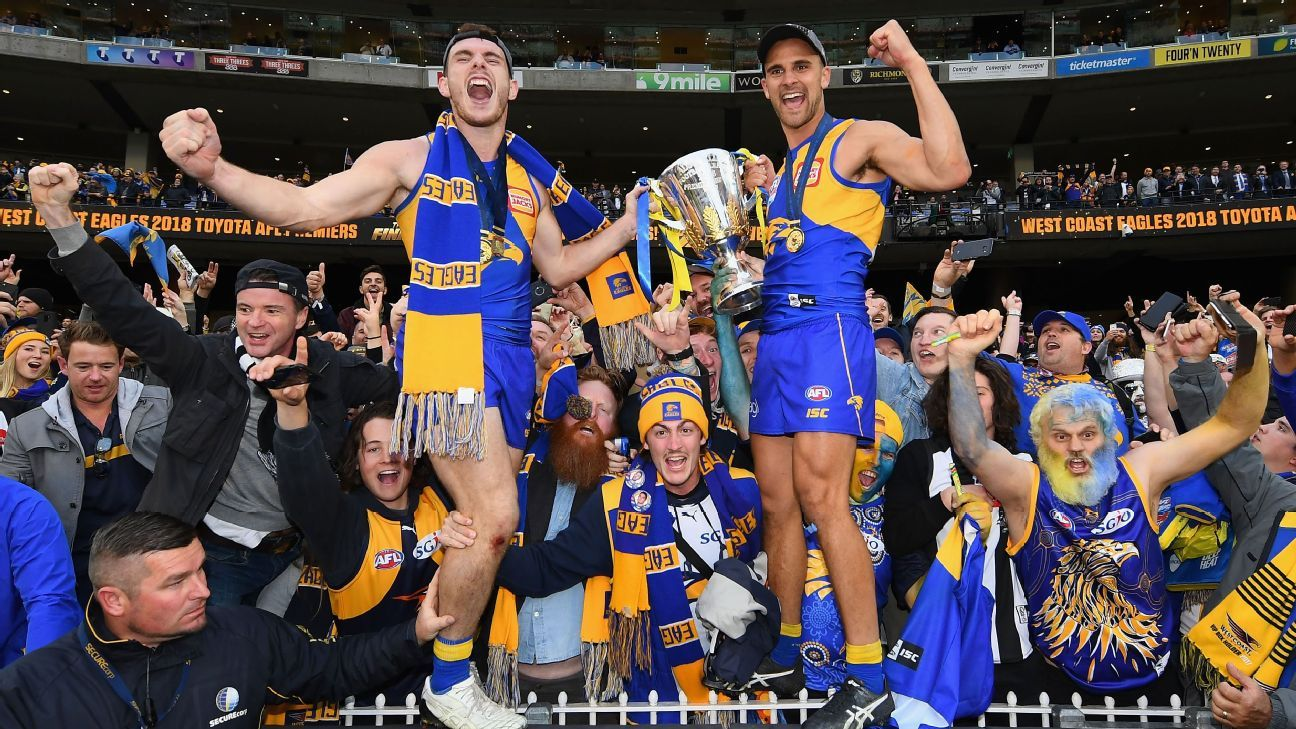 AFL 2019 way too early ladder predictions