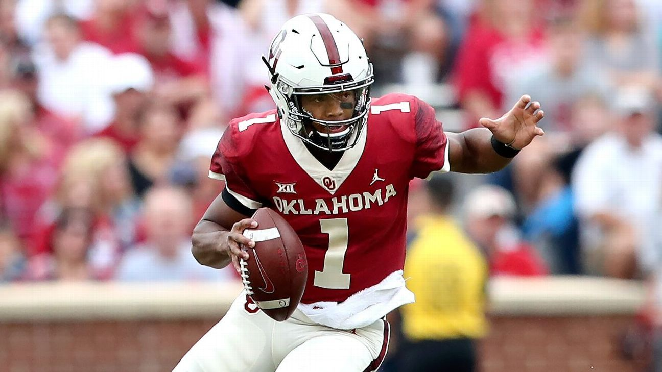 info for e050c 9ef19 QB Austin Kendall starts over Kyler Murray for Oklahoma Sooners