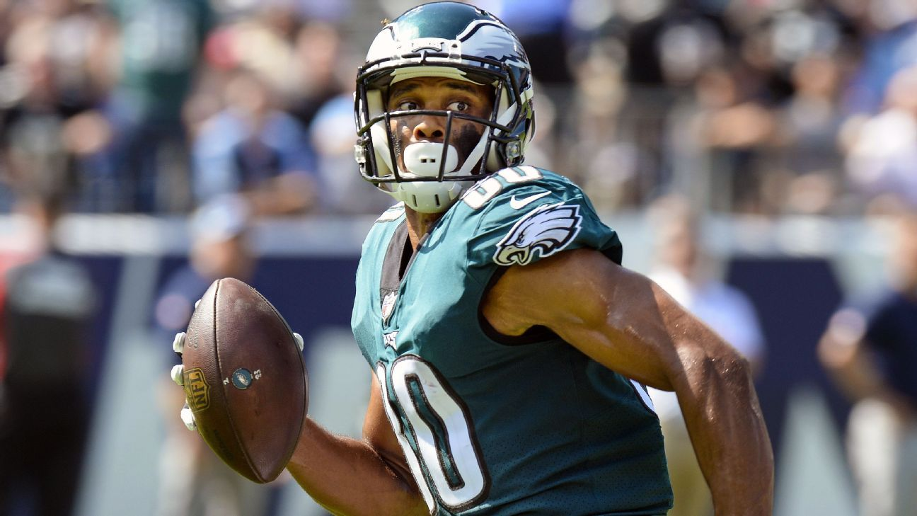 San Francisco has added free agent Jordan Matthews to its receiving corps with a one-year deal.