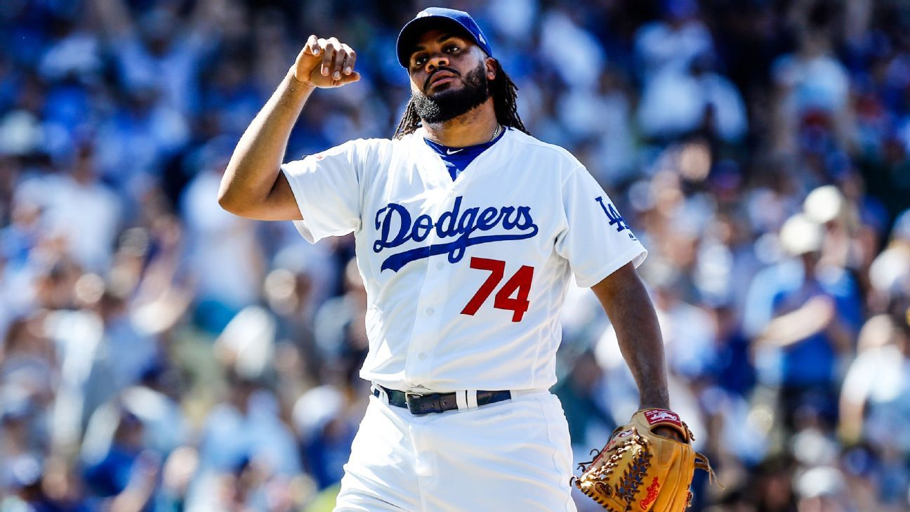 39b62e39894 Dodgers closer Kenley Jansen  ready to roll  after 2nd heart procedure