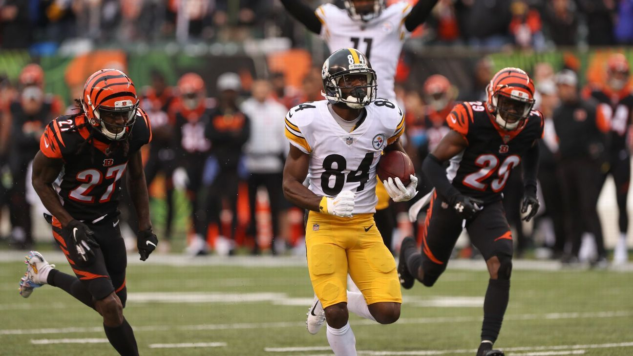 9e0642221 Steelers players rally behind Antonio Brown, condemn Vontaze Burfict