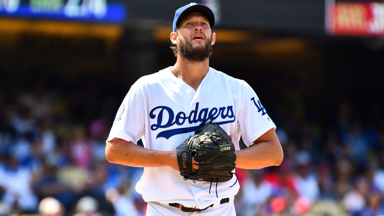 79848bb047f4f MLB -- Clayton Kershaw s Game 5 start could be his last for Los Angeles  Dodgers