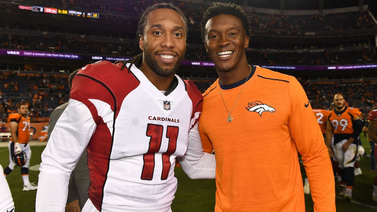 2220b7215fbed8 Larry Fitzgerald, Demaryius Thomas and the art of aging at wide receiver - Denver  Broncos Blog- ESPN