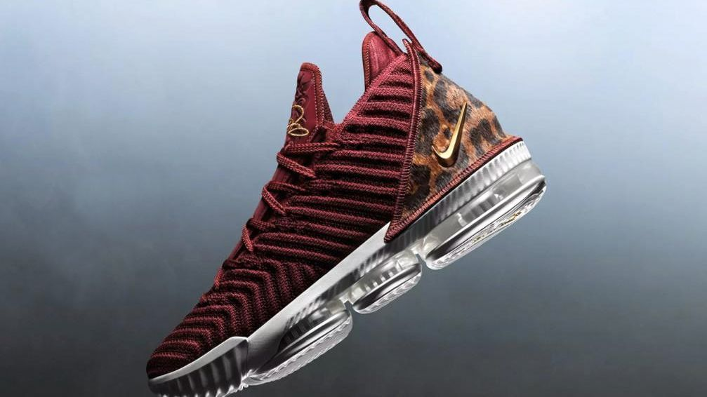 ffd89b1da LeBron James  sneakers for his Los Angeles Lakers debut inspired by  original 2003 Nike poster