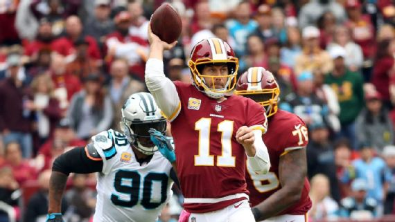 finest selection 70320 bf5a5 Breaking down the Redskins' QB options as Alex Smith ...