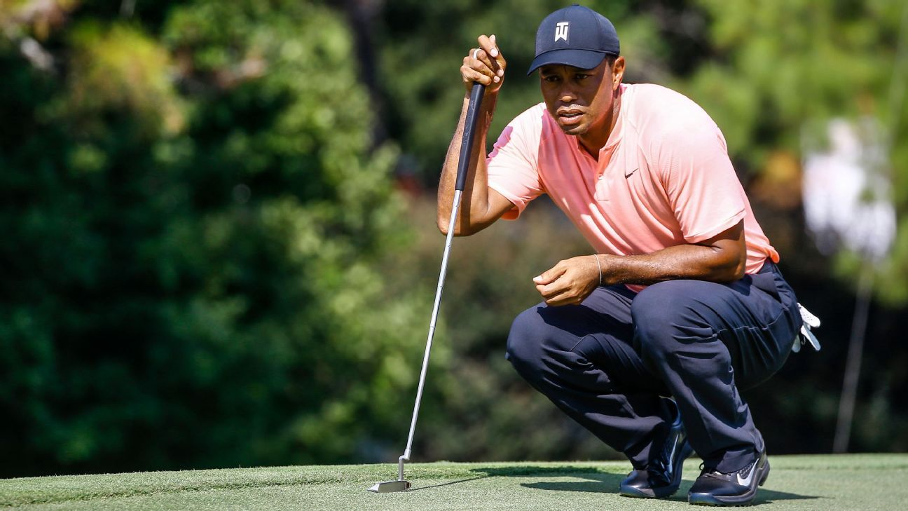 Tiger Woods Schedule