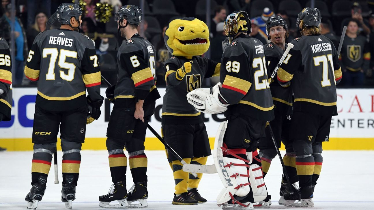 NHL - Vegas Golden Knights won t have a honeymoon in second season - how  they keep fans engaged 1d0bb00da25f