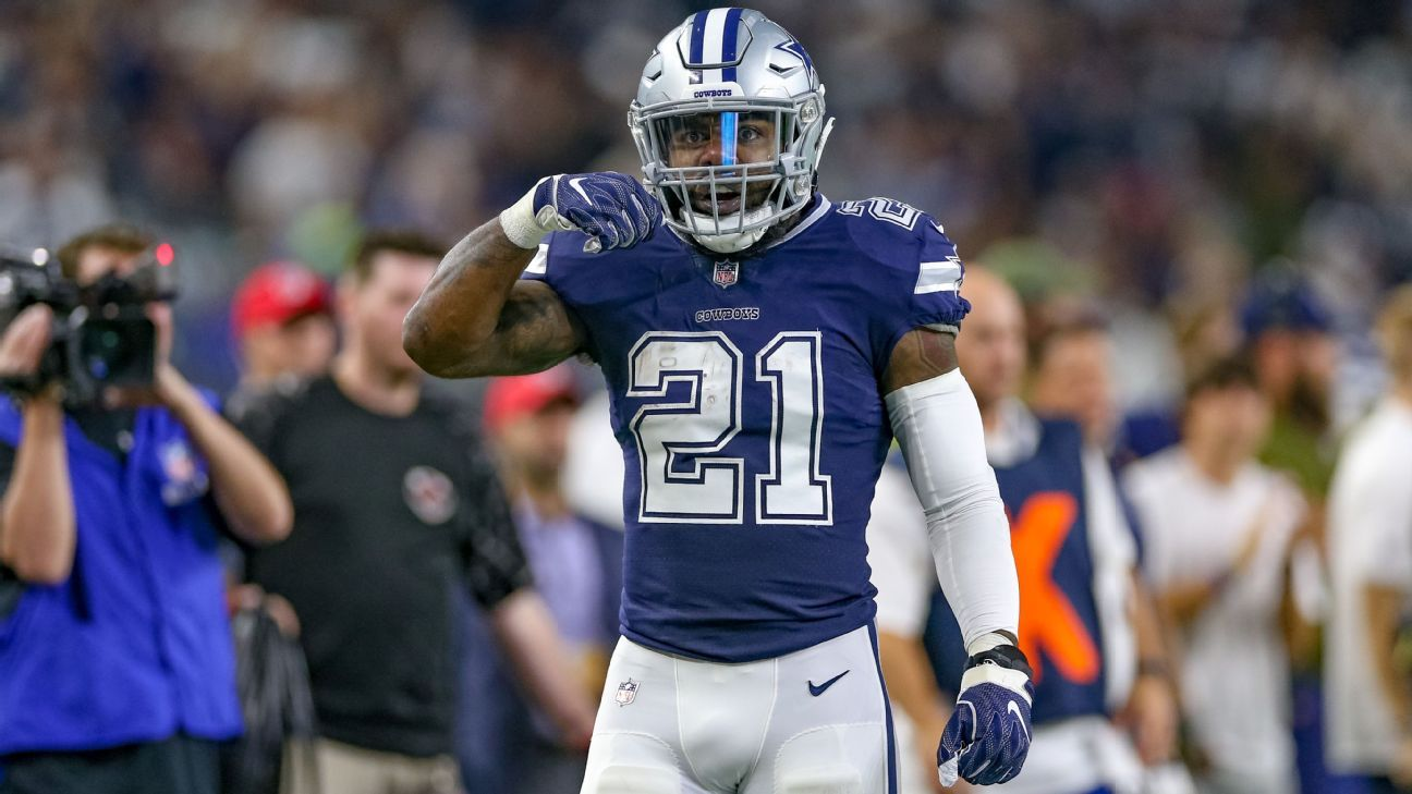 free shipping e78ab 41a75 Zeke: Cowboys have to get 'run game going, period, point ...