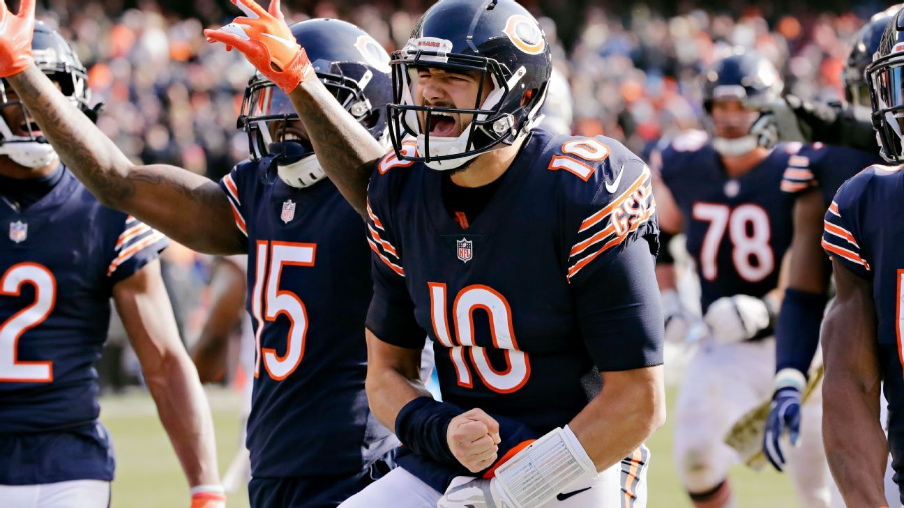516544c12 Let s overreact to NFL Week 10 Chicago Bears Mitchell Trubisky is this  year s Jared Goff
