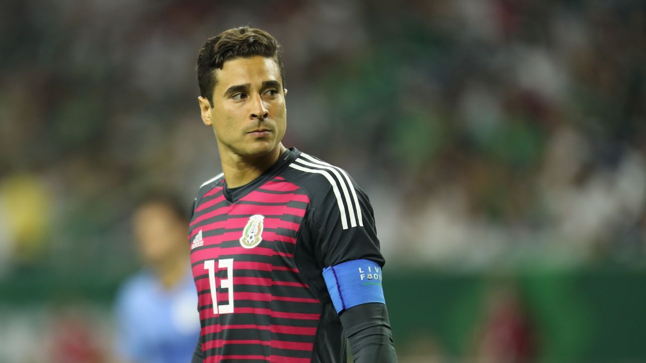 f7bf668f73f Mexico's November friendlies will be a litmus test for Guillermo Ochoa,  Mexico's goalkeepers