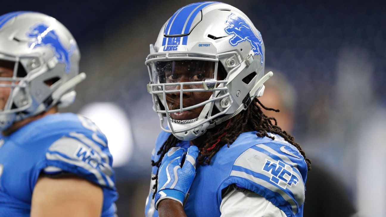 finest selection ced1b 71867 Breaking down Lions' pending free agents: Who stays, goes ...