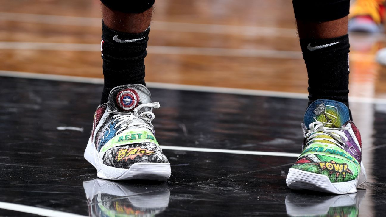 4134b3ed017c93 Which player had the best sneakers of Week 5 in the NBA