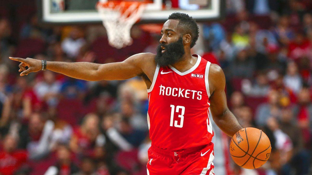 a67ff5dbc James Harden hits scoring milestone as Houston Rockets extend surge