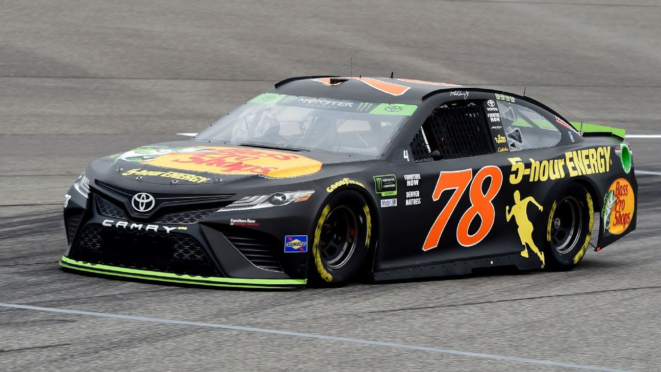 2018 Nascar Cup Series Paint Schemes Team 78 Furniture Row Racing