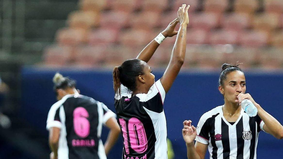 Santos goleia Colo-Colo na estreia da Libertadores feminina ed434b1c0cb0a