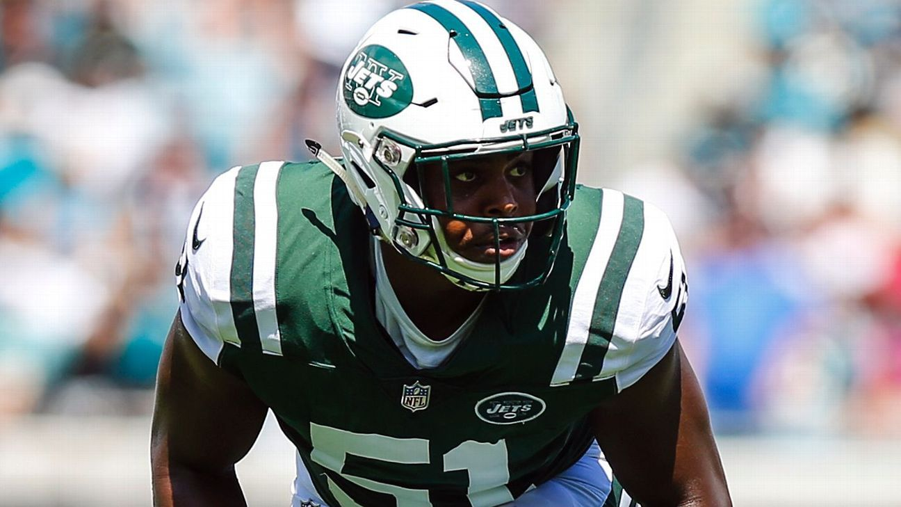 Jets LB Copeland suspended 4 games by NFL