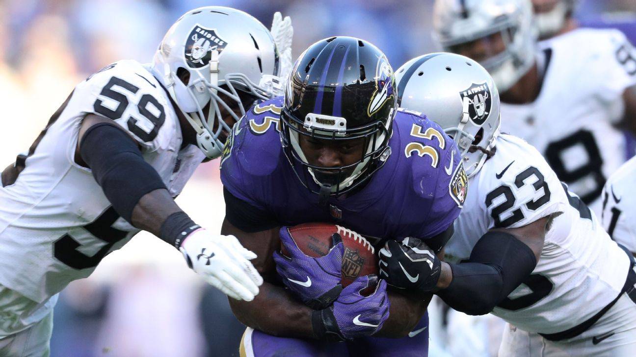 Gus the Bus  keeps rolling at unreal record clip for Ravens - Baltimore  Ravens Blog- ESPN f41146289