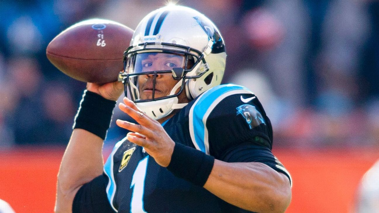 Panthers coach Ron Rivera said all reports on Cam Newton's shoulder are