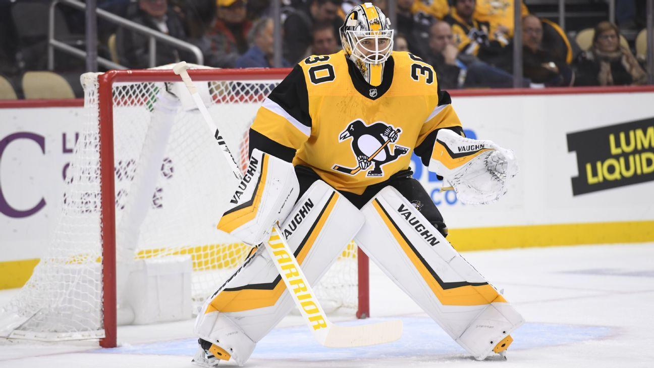 Nascar Racing Games >> Matt Murray of Pittsburgh Penguins returns to practice