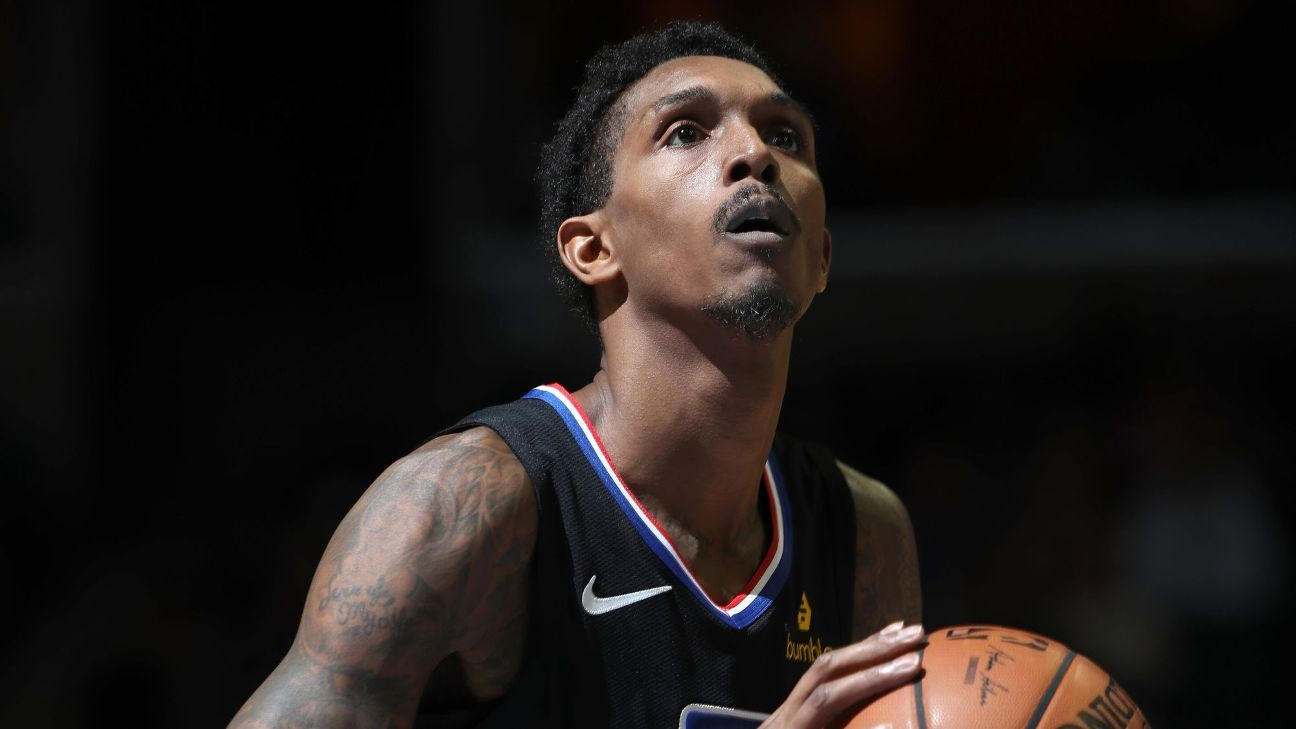 3dede1788b04 Lou Williams of LA Clippers could miss a couple weeks with hamstring injury