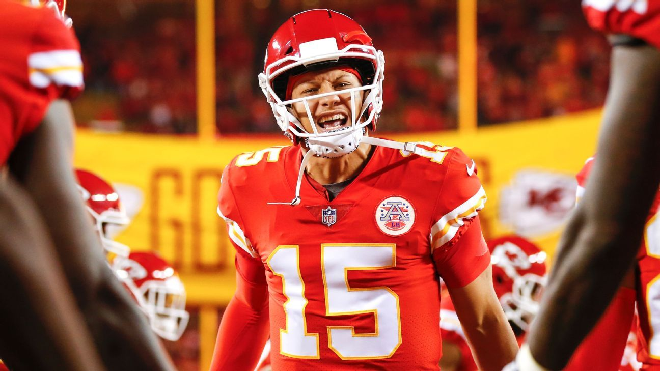 The Chiefs, led by QB Patrick Mahomes, and the Bears each had four players named to the AP NFL All-Pro Team, which also features four rookie selections.