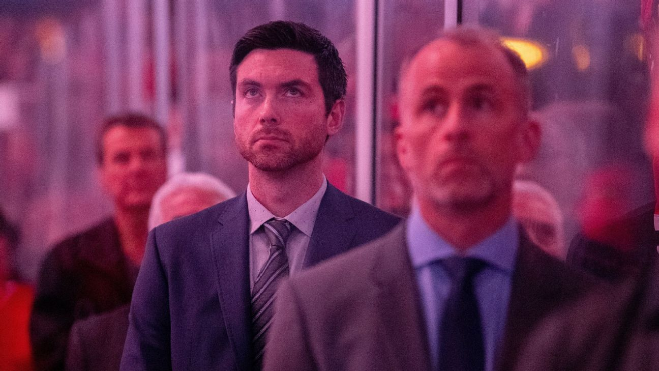 72cae1ccb19 Inside Jeremy Colliton's journey to become the Chicago Blackhawks head coach