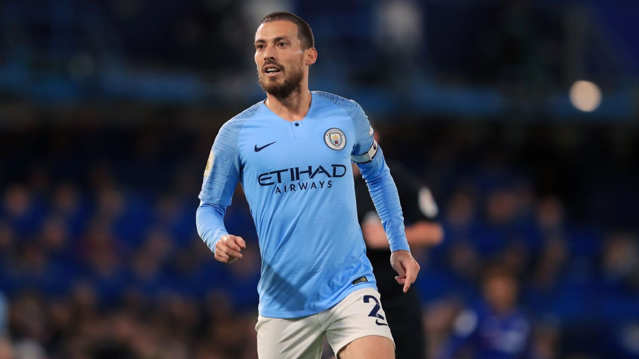 Manchester City's David Silva to agree short-term contract extension - sources - ESPN