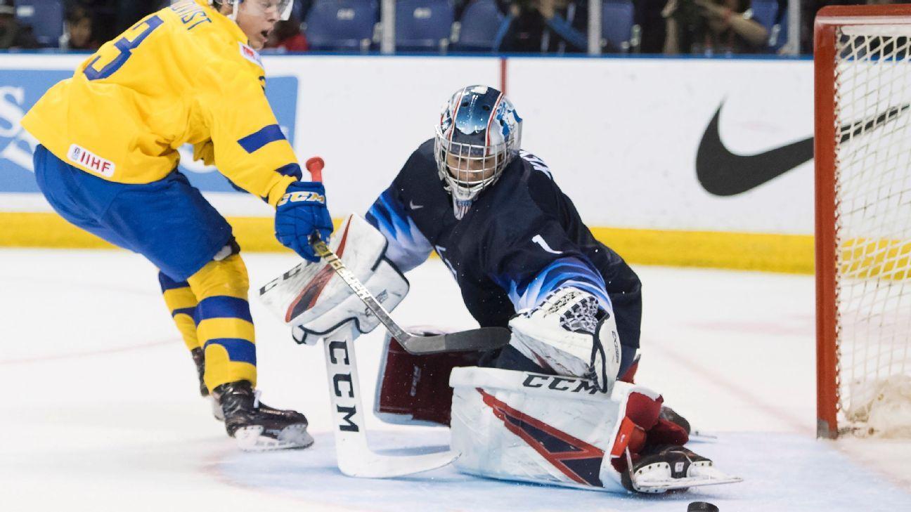 Sweden foils U.S. comeback with OT triumph