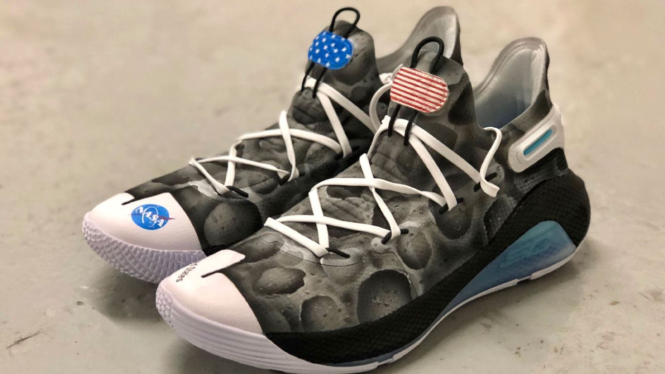 1f51d9026d5 Stephen Curry of Golden State Warriors to auction off NASA-themed sneakers  for STEM education
