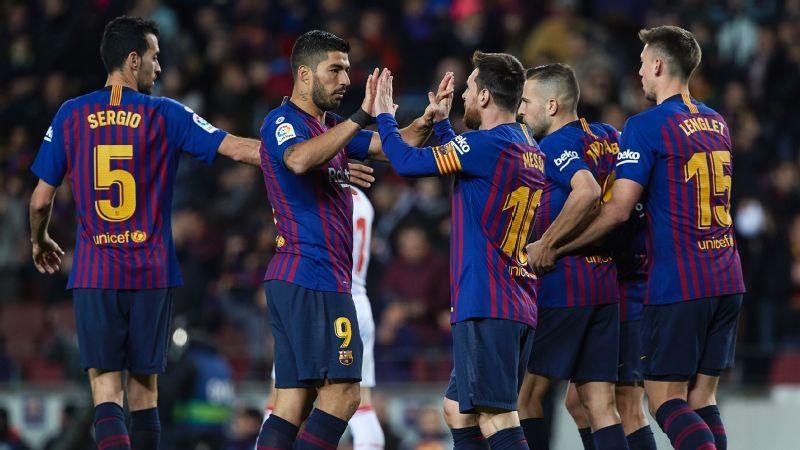 Barcelona vs. Eibar - Football Match Report - January 13 ...