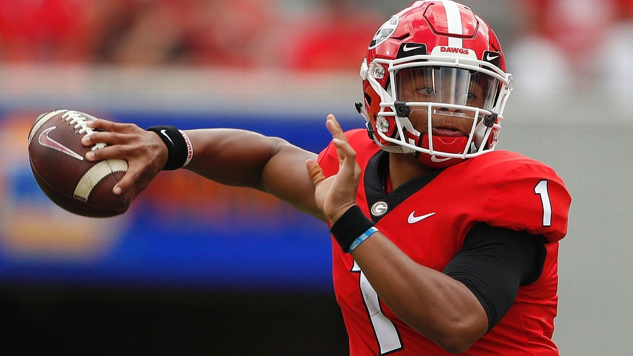 Will former No. 1 recruit Justin Fields play right away? Will Tate Martell transfer? Here's what we know -- and don't -- about the Buckeyes' QB situation.