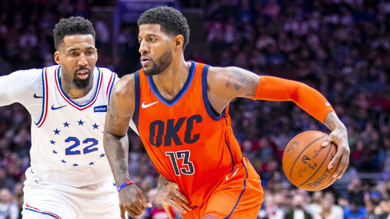 With clutch performance, Paul George proves he's the steadying force the Thunder need