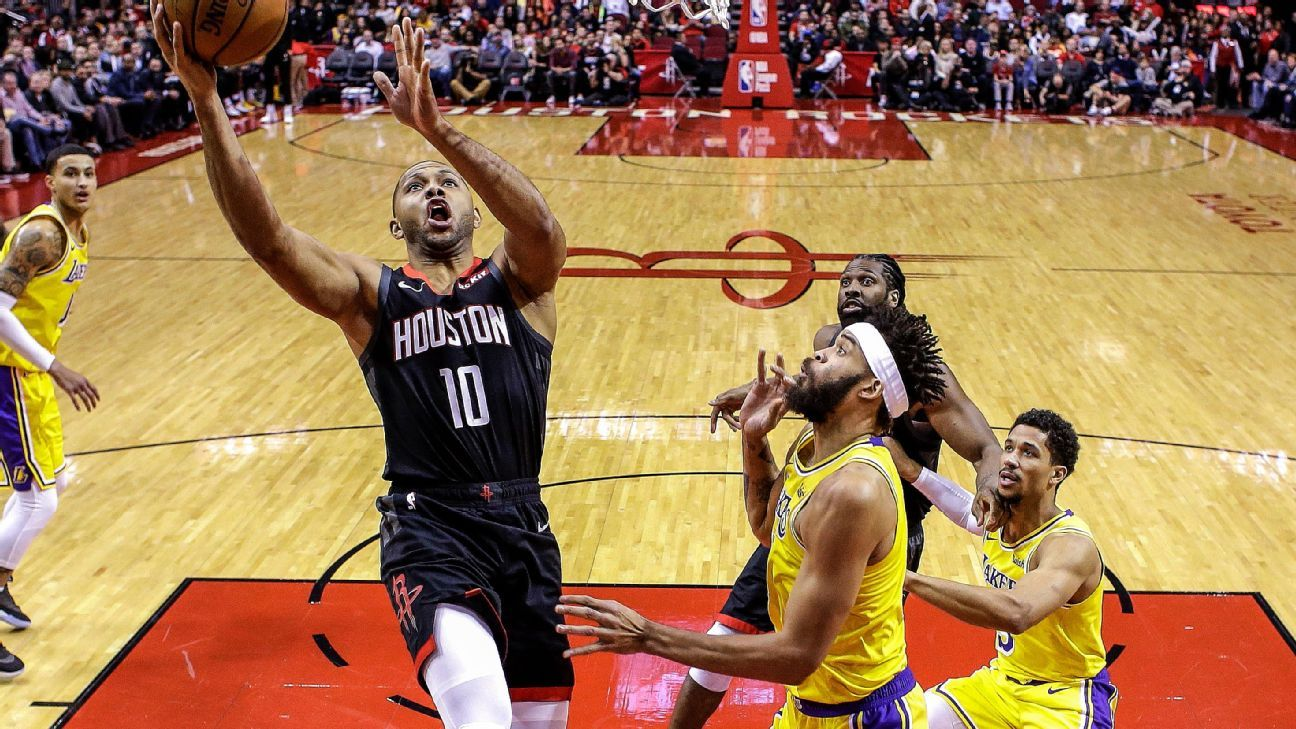 Eric Gordon, James Harden power Houston Rockets