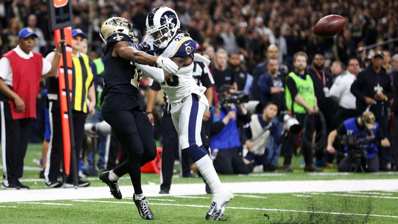 Pass interference now reviewable by NFL officials
