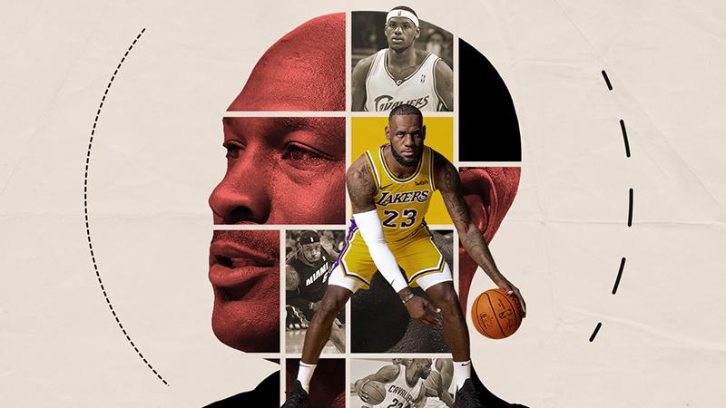 online retailer 28e3e 6f712 LeBron James y Michael Jordan en sus propias palabras a través de los años