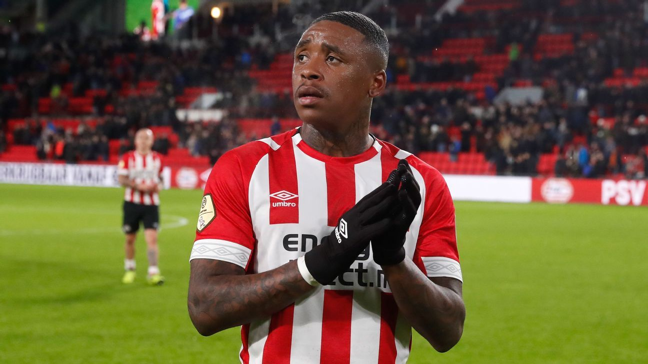 PSV's Bergwijn to sign for Tottenham - sources - ESPN