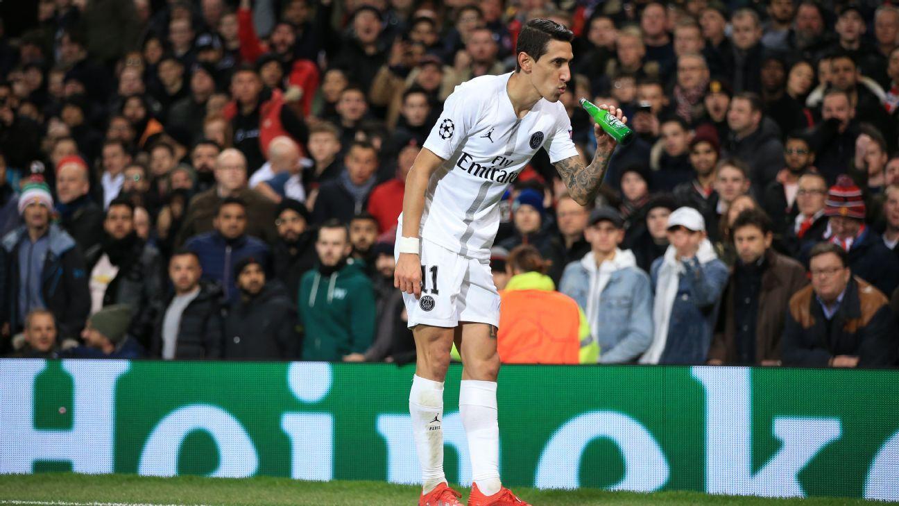 UEFA fine United, PSG for incidents at Old Trafford