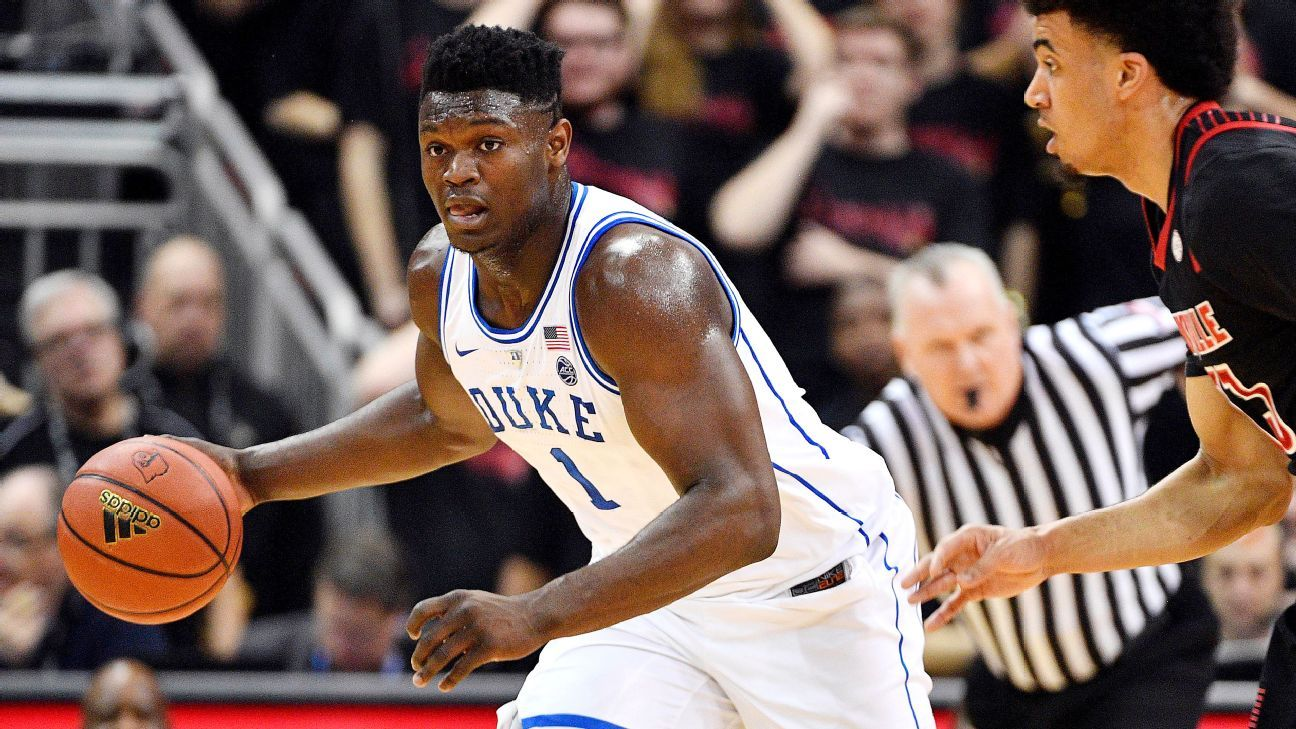 At 6-foot-7 and 292 pounds, Duke freshman Zion Williamson is a force on the basketball court. But Clemson's Dabo Swinney told Blue Devils coach Mike Krzyzewski that he'd put Williams